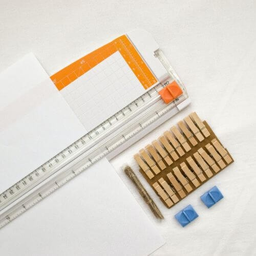 Staples Ruler Paper Clips