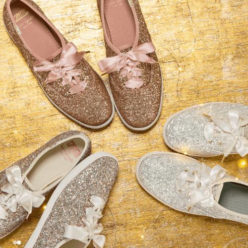 Kids Glitter Keds Sneakers