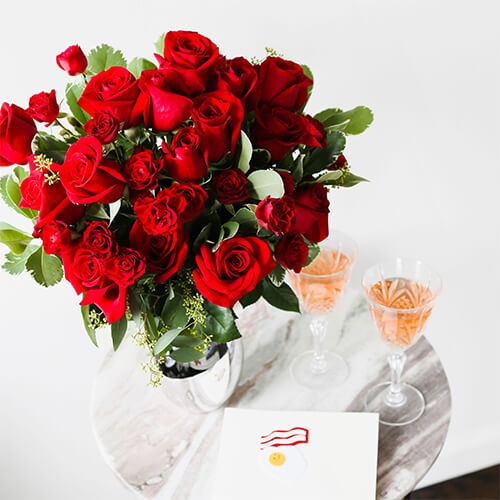 Grab Bouquet of Roses from $39.99