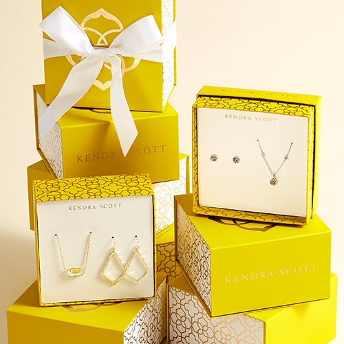 Kendra Scott Gold Gift Boxes